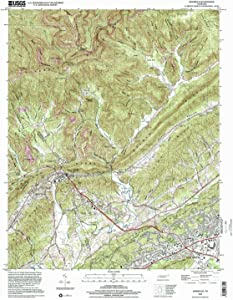 YellowMaps Windrock TN topo map, 1:24000 Scale, 7.5 X 7.5 Minute, Historical, 2000, Updated 2001, 27.2 x 21.9 in