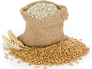 Lancaster County Organic Farms 1LB Wheat Bran Bedding, Food for Mealworms and Superworms