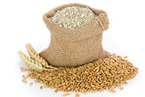 Lancaster County Organic Farms 4LB Wheat Bran Bedding, Food for Mealworms and Superworms
