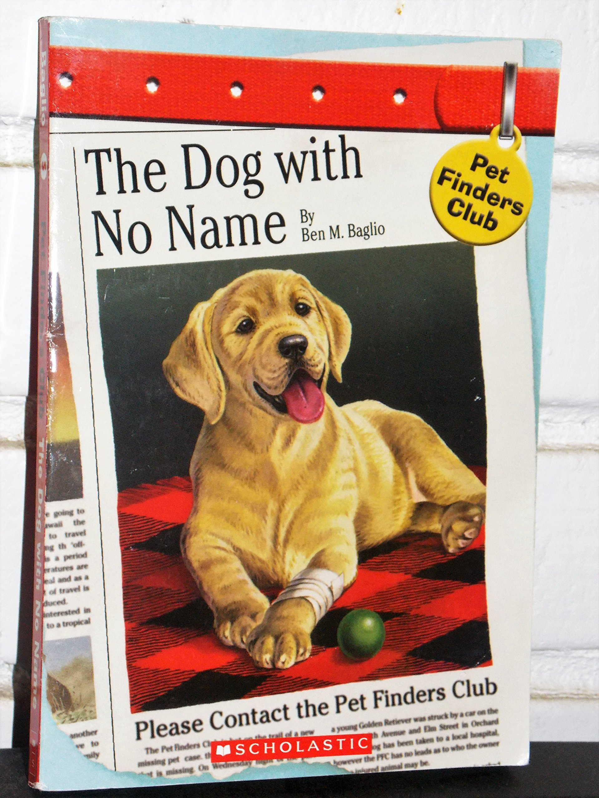 The Dog with No Name (Pet Finders Club #5) pdf epub
