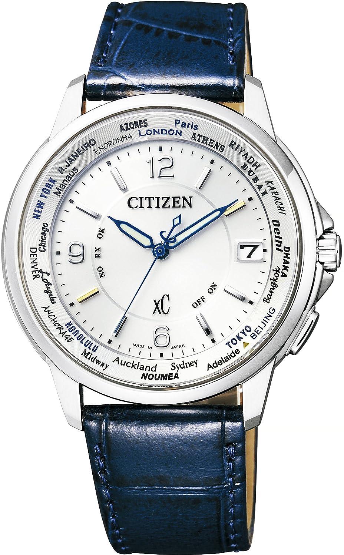 [シチズン]CITIZEN 腕時計 xC クロスシー ハッピーフライト クロスシー×ANA エコドライブ電波時計 限定2,300本 CB1020-03B メンズ B01LXTJPGV