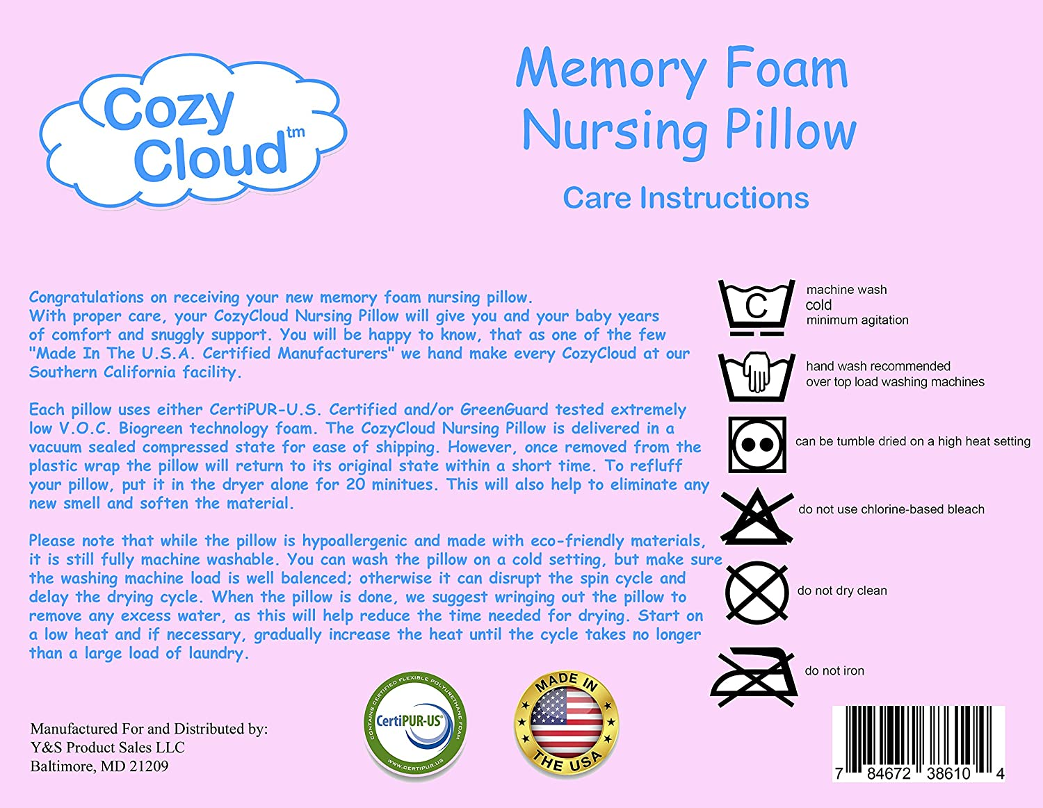 Amazon.com: cozycloud Eco-friendly Espuma de memoria ...