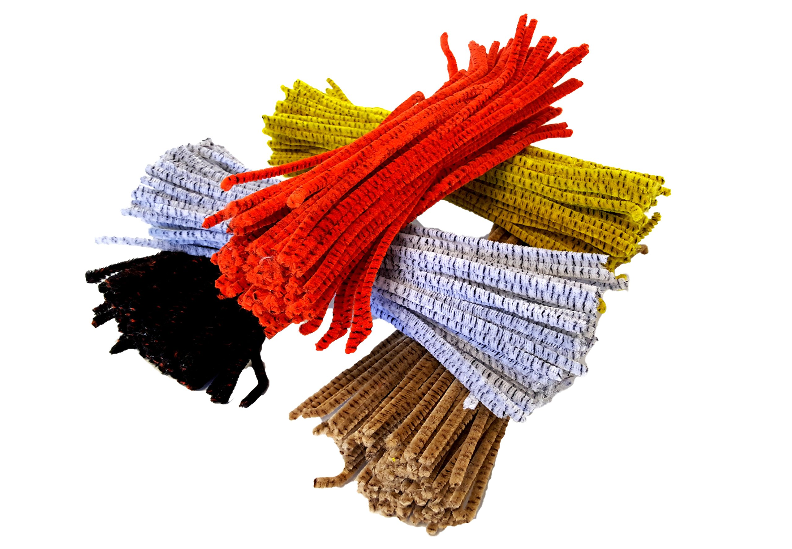 Playscene' Jumbo DIY Craft Kit, Pompons, Pipe Cleaners, Wiggle Eyes, Huge Selection Craft Kit (Pipe Cleaners - 12 Packs)