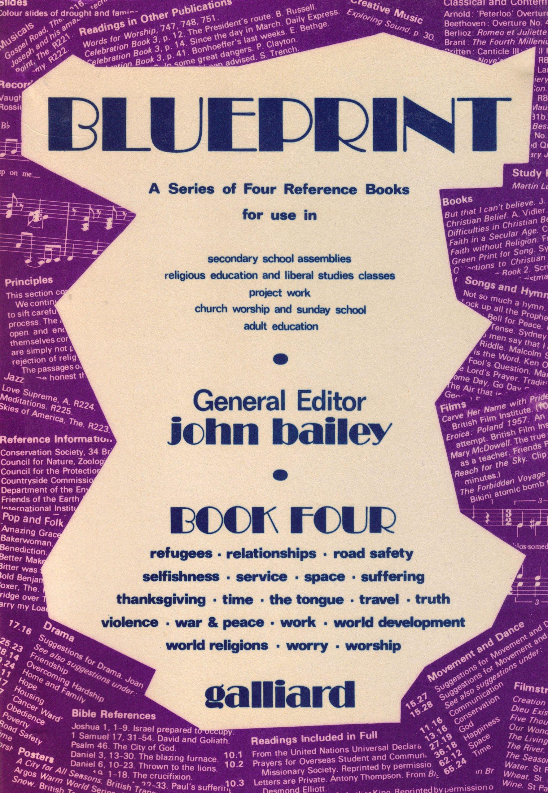 Blueprint bk 4 john bailey 9780852493540 amazon books malvernweather Gallery