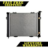 RADIATOR FOR JEEP FITS GRAND CHEROKEE GRAND WAGONEER 5.2 V8 8CYL 1394
