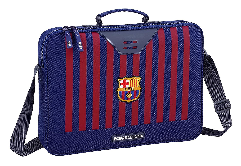 FC Barcelona 2018 Briefcase Azul Blue 38 cm