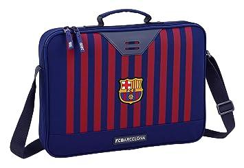 FC Barcelona Bolso maletín Cartera extraescolares niño.: Amazon.es: Equipaje