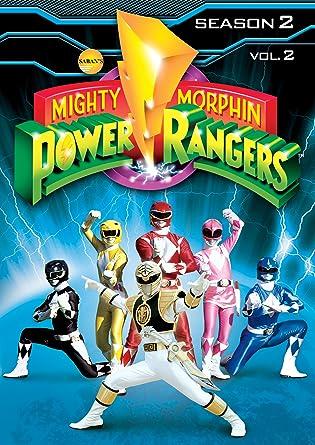 Mighty Morphin Power Rangers: Season 2 Volume 2 Reino Unido DVD: Amazon.es: Cine y Series TV
