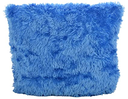 Generic Printed Stuffed Pillow , Pack of 2 (Blue)