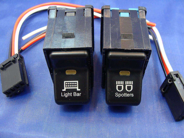 gcd jeep tj rocker switch pair light bar spotters switches 1997 2006  jeep tj rocker switch wiring #6