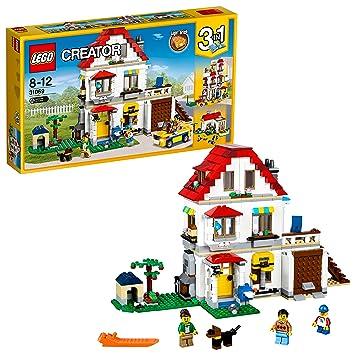amazon レゴ lego クリエイター ファミリーコテージ 31069 ブロック