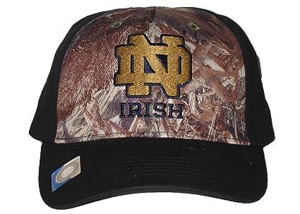timeless design 4e968 04a7d ... new era ncaa alias 59fifty hats 5db4c c6292 norway notre dame fighting  irish ncaa black mossy oak camo adjustable hat 21f1a 146bb ...