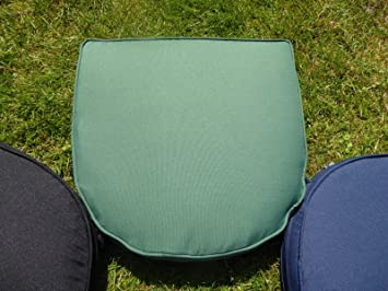 uk gardens green garden furniture chair cushion seat pad round back