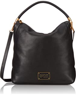 dc9ae852e2dd Amazon.com  Marc by Marc Jacobs Women s Softy Saddle Hobo