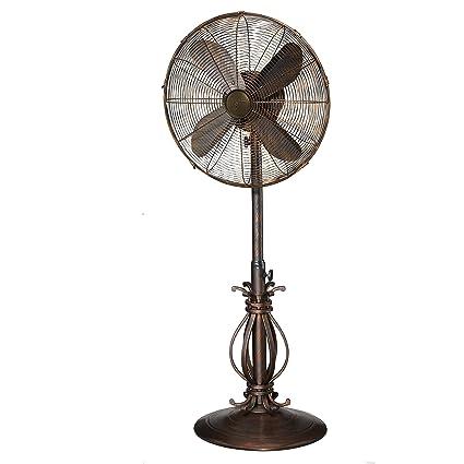 Designer Aire Oscillating Indoor/Outdoor Standing Floor Fan for Cooling Your Area Fast - 3