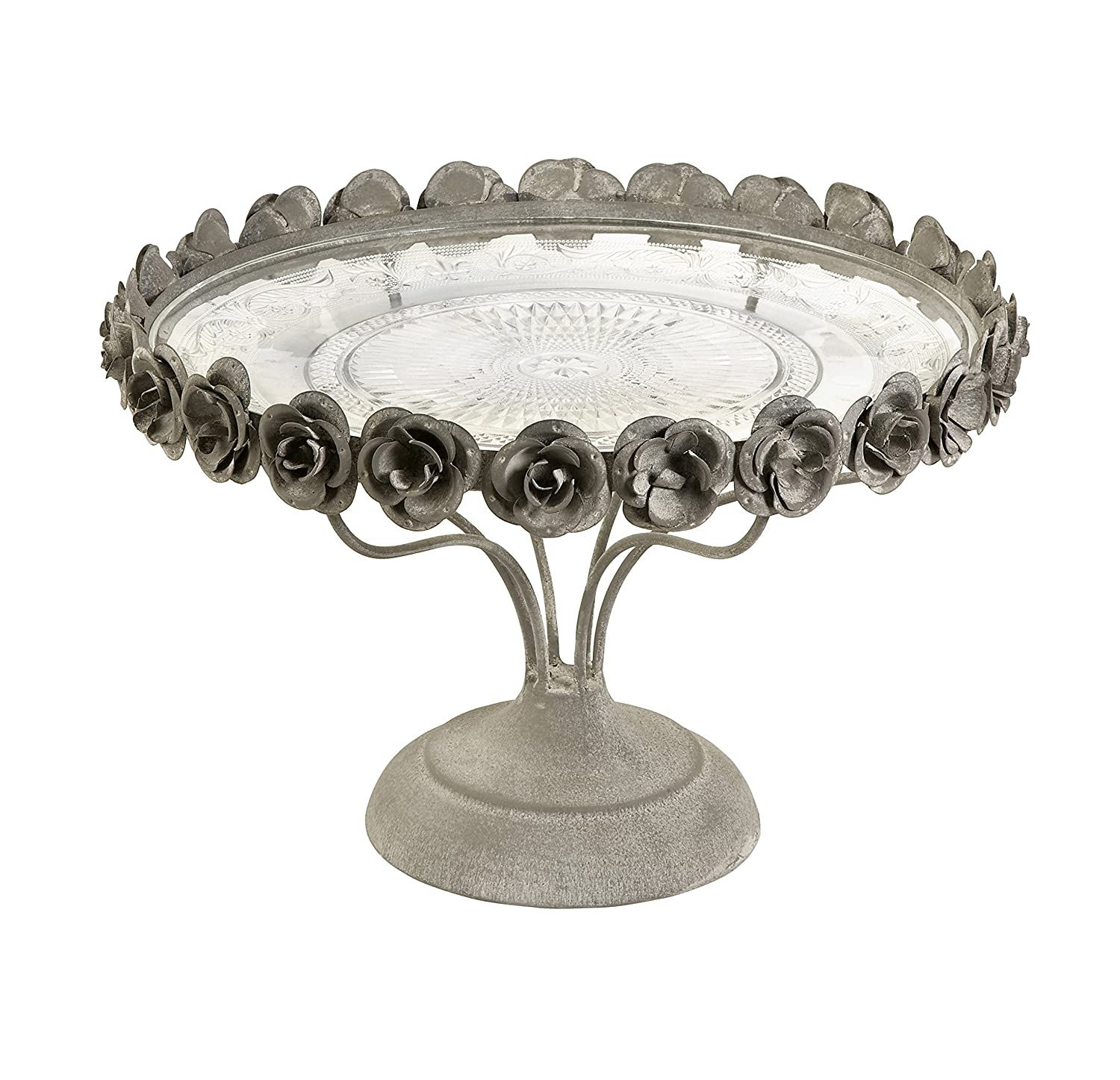 sc 1 st  Amazon.com & Amazon.com: Imax 68029 Rose Pedestal Cake Plate: Home u0026 Kitchen