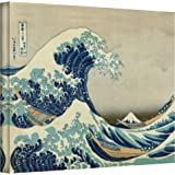 ArtWall Katsushika Hokusai Gallery Wrapped Canvas, The Great Wave off Kanagawa