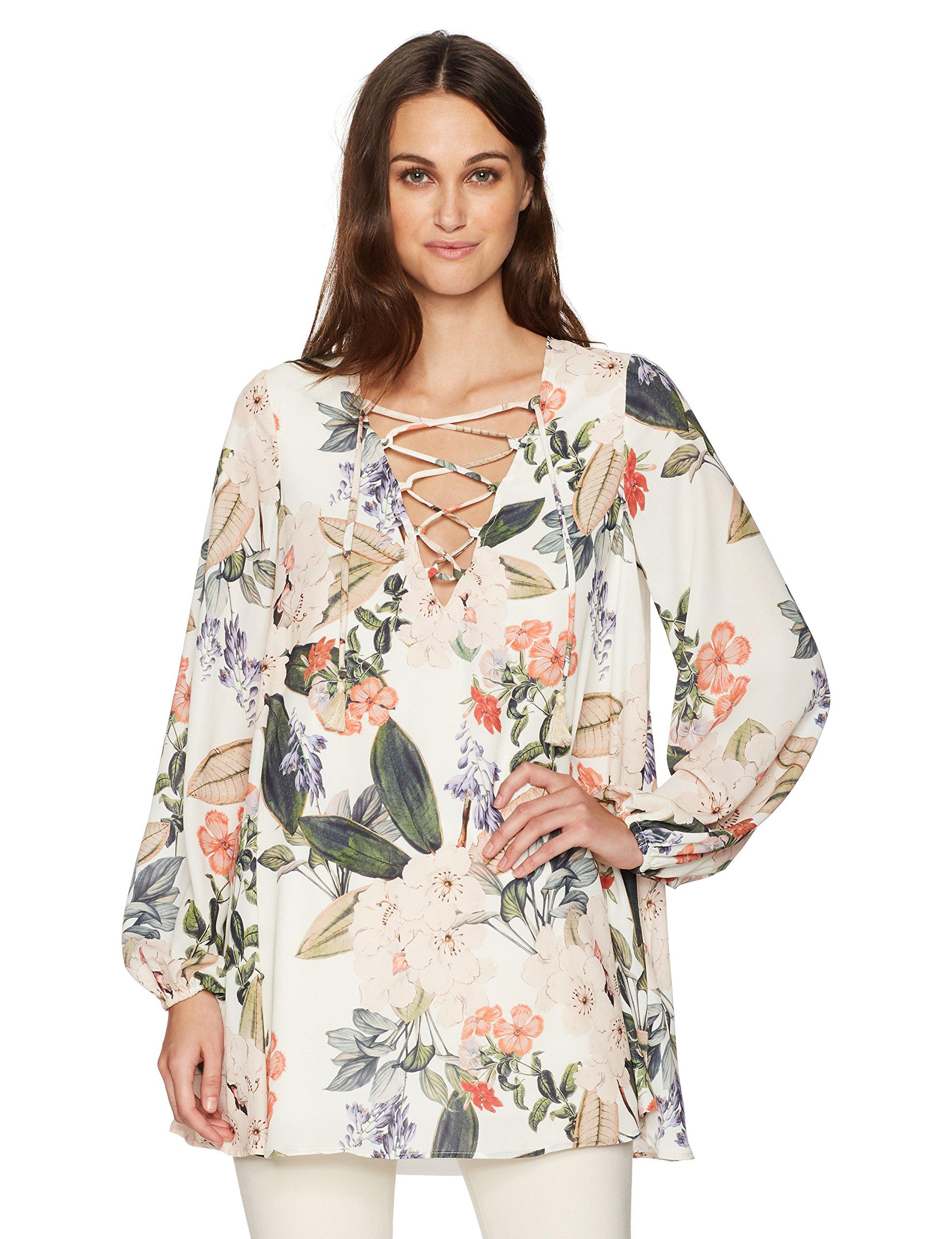 Show Me Your Mumu Women's Lightning Bird Tunic, Enchanted Floristry, XS