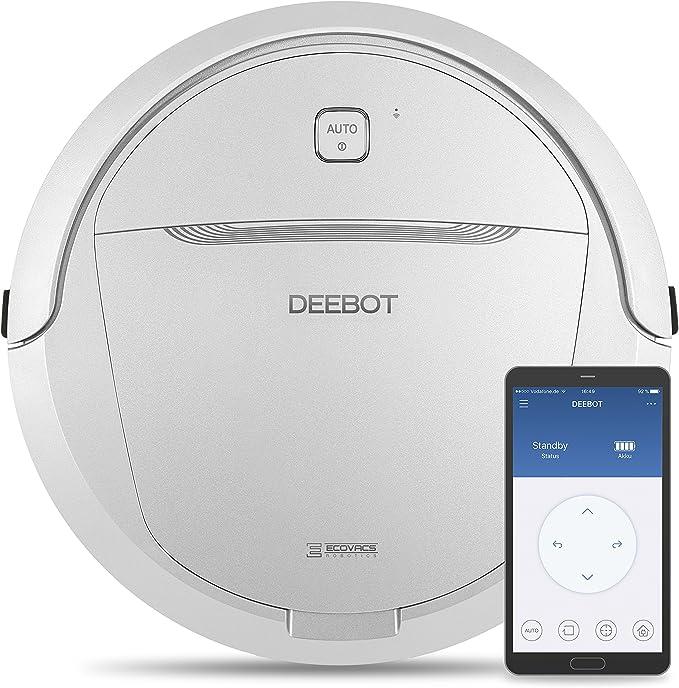 Ecovacs Robotics Deebot M81Pro - Robot limpiasuelos con limpieza en 5 etapas con App: Amazon.es: Hogar