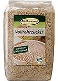 BioGourmet Vollrohrzucker, 3er Pack (3 x 500 g Beutel) - Bio