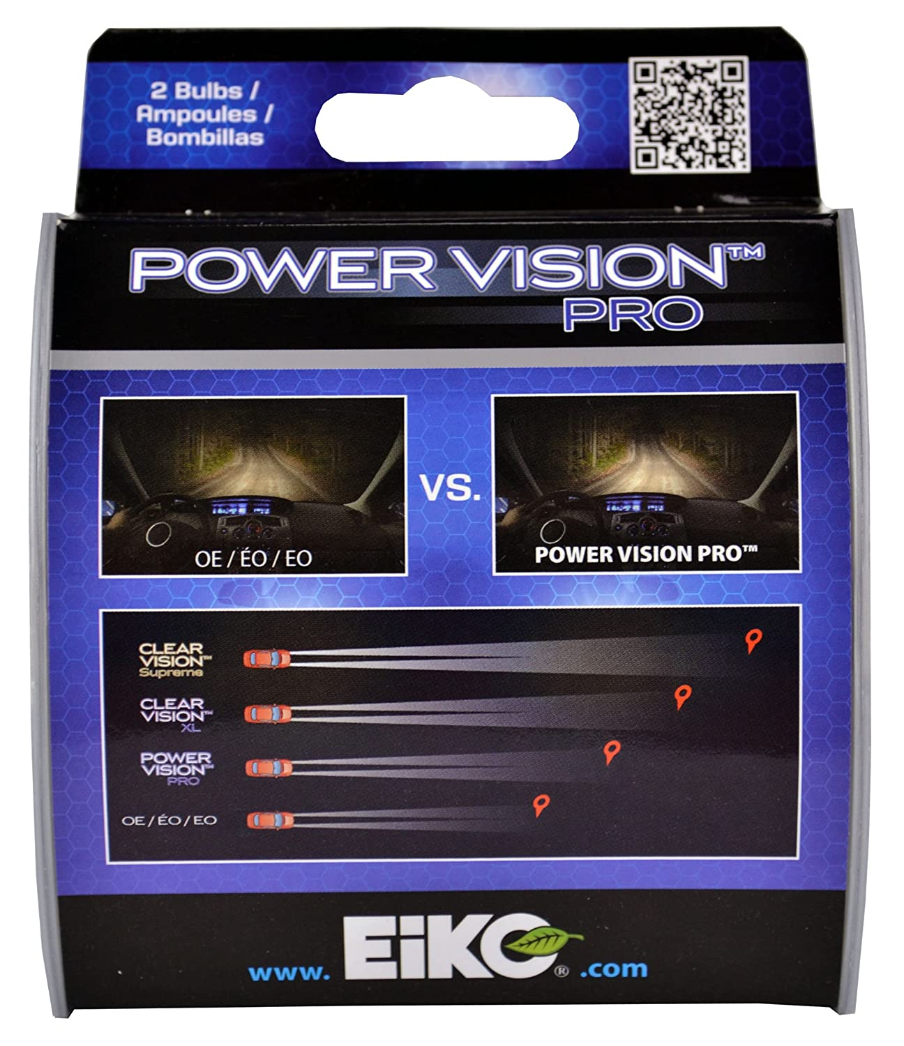 Amazon.com: EiKO H755PVP2 H7 55W Power Vision PRO Halogen Bulb, (Pack of 2): Automotive