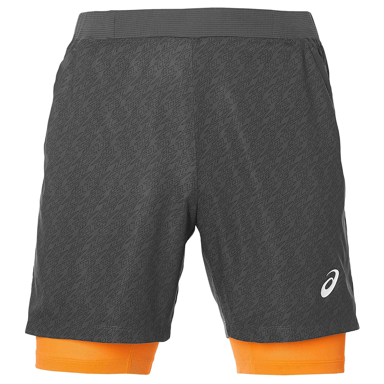 ASICS Padel Player GPX 7IN 2IN1 Pantalones Cortos, Hombre, Gris ...