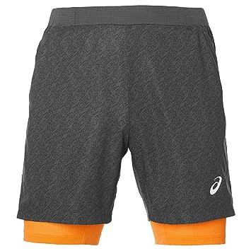 ASICS Padel Player GPX 7IN 2IN1 Pantalones Cortos, Hombre, Gris (Dark Grey), XL: Amazon.es: Deportes y aire libre