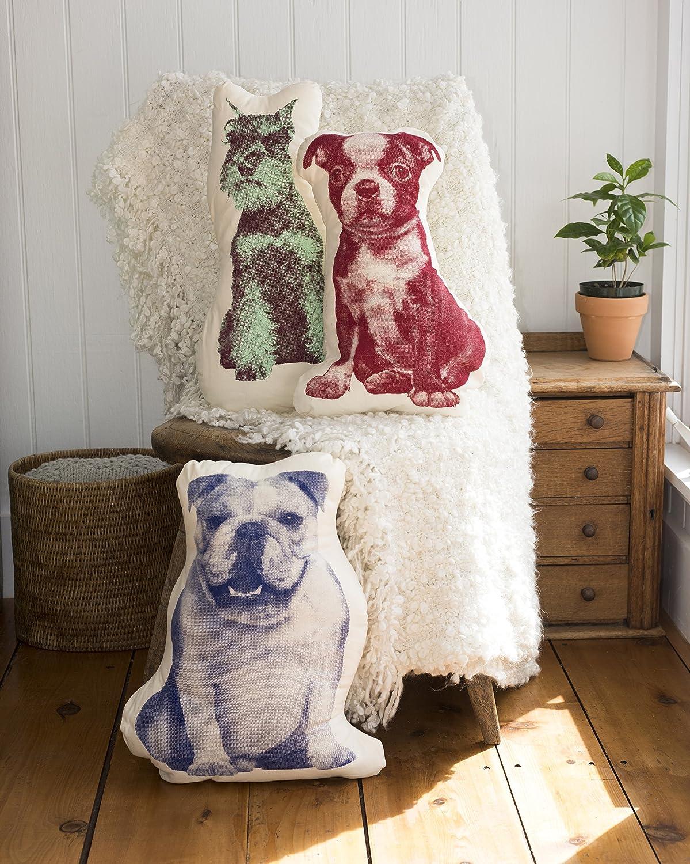 Areaware Terrier Pillow
