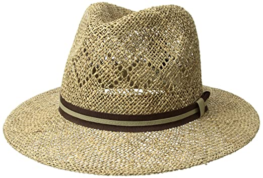 Country Gentleman Men Vented Linenweave Outback Hat at Amazon Men s ... dab7f09534f