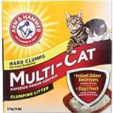 ARM & HAMMER Multi-Cat Litter, Superior Odour Control, 6.4-kg