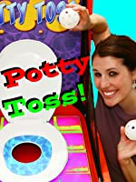 POTTY TOSS! Gross Toilet Game Family Game Night Toy Carnival Fun