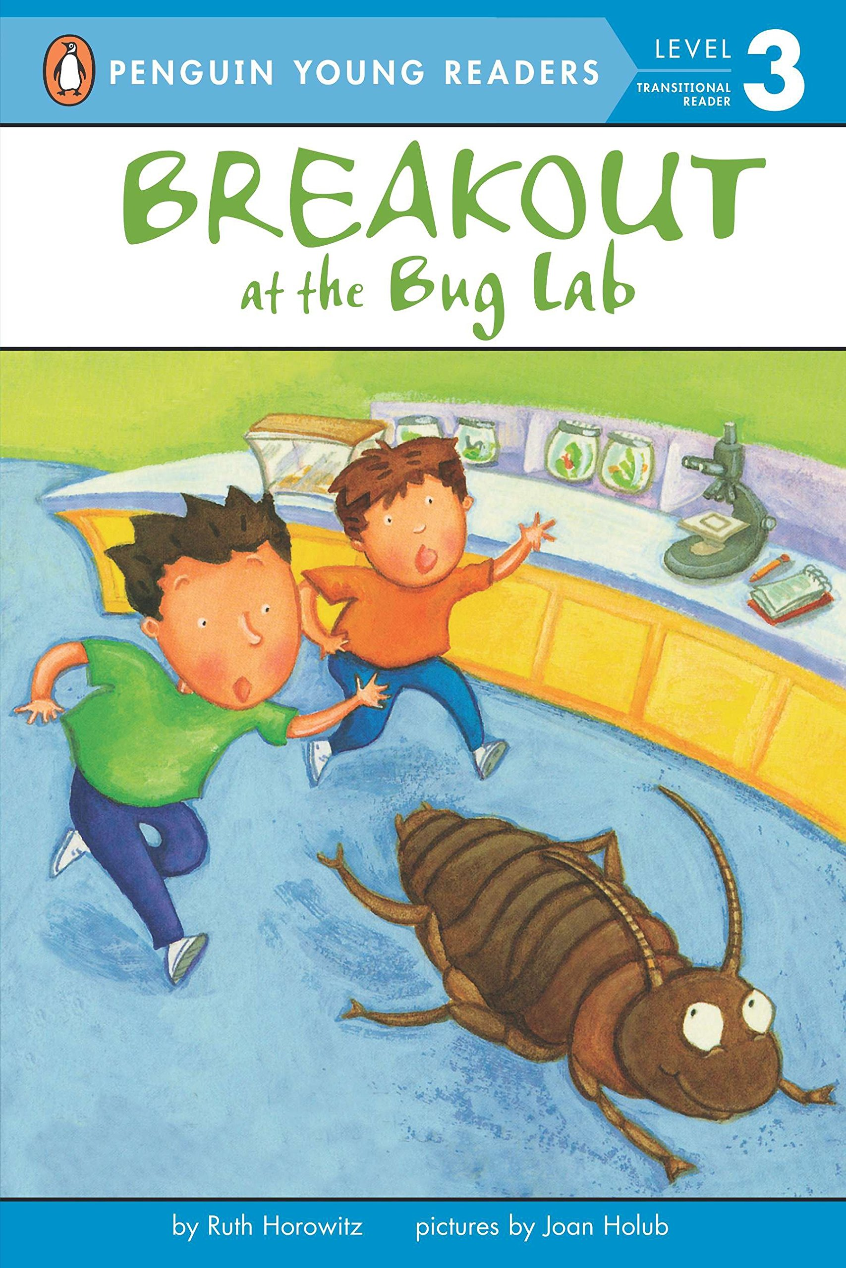 Amazon.com: Breakout at the Bug Lab (Penguin Young Readers, Level 3)  (9780142302002): Ruth Horowitz, Joan Holub: Books
