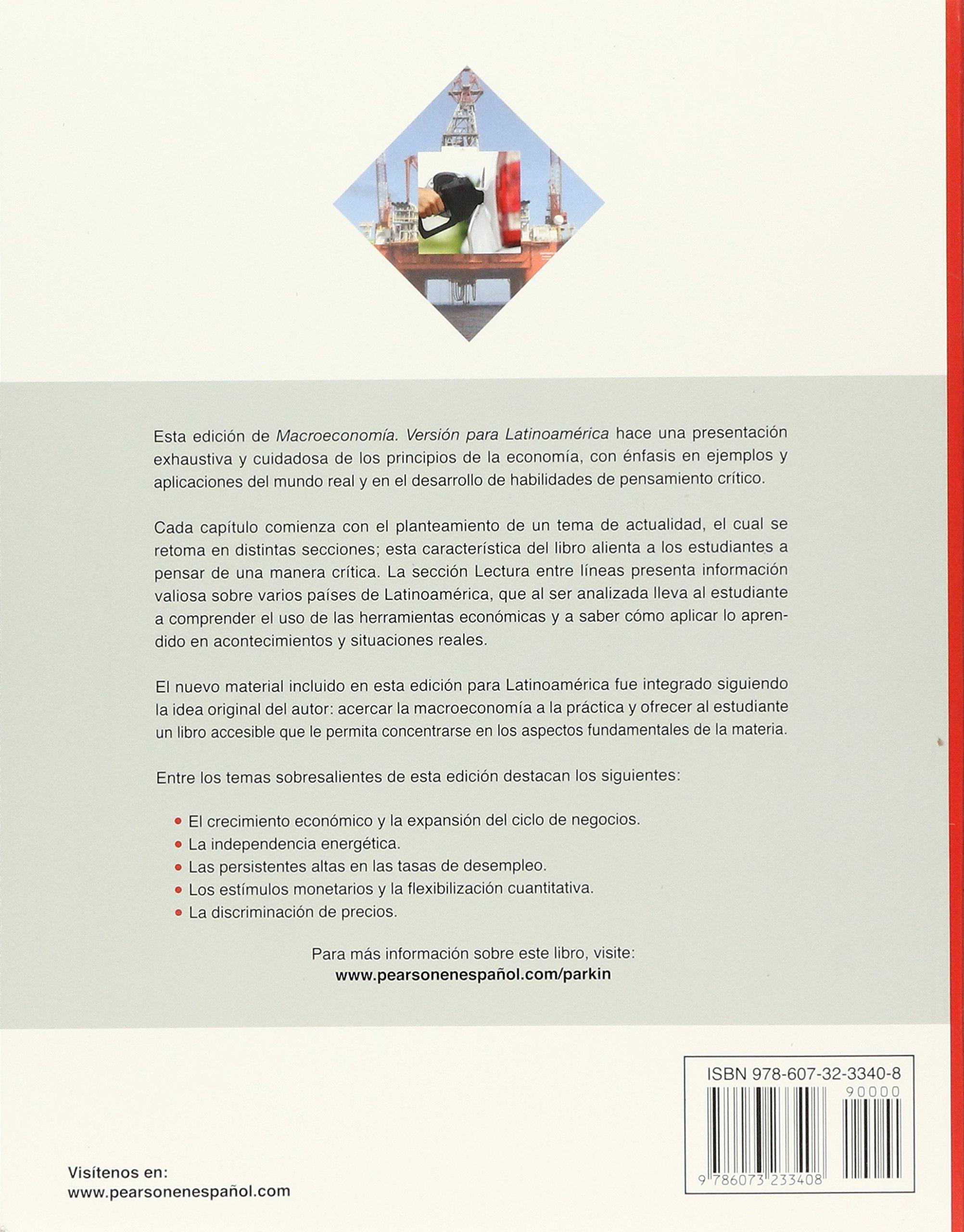 Macroeconomia version para latinoamerica parkin 9786073233408 macroeconomia version para latinoamerica parkin 9786073233408 amazon books fandeluxe Images