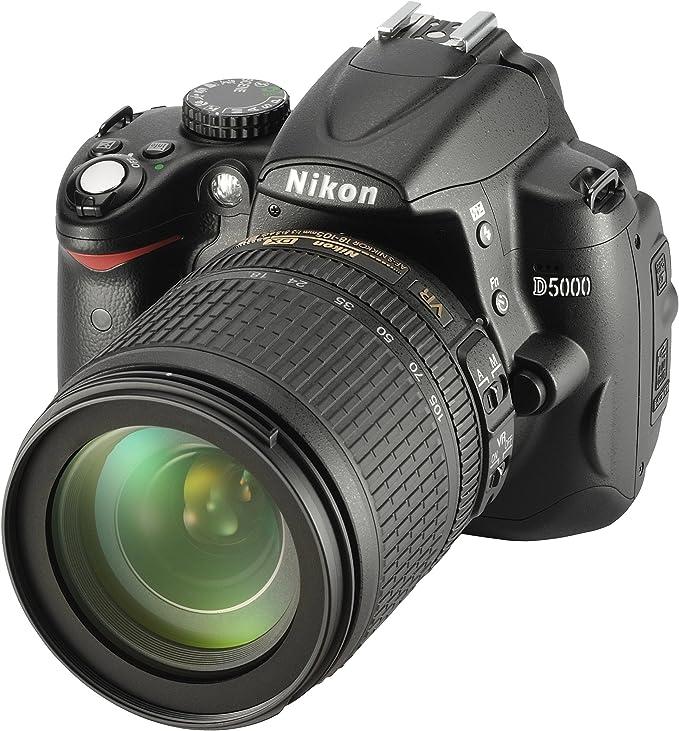 Nikon D5000 – Cámara Digital SLR (12 megapíxeles, Live View ...