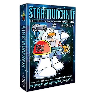Steve Jackson Games Star Munchkin: Jackson, Steve, Kovalic, John: Toys & Games