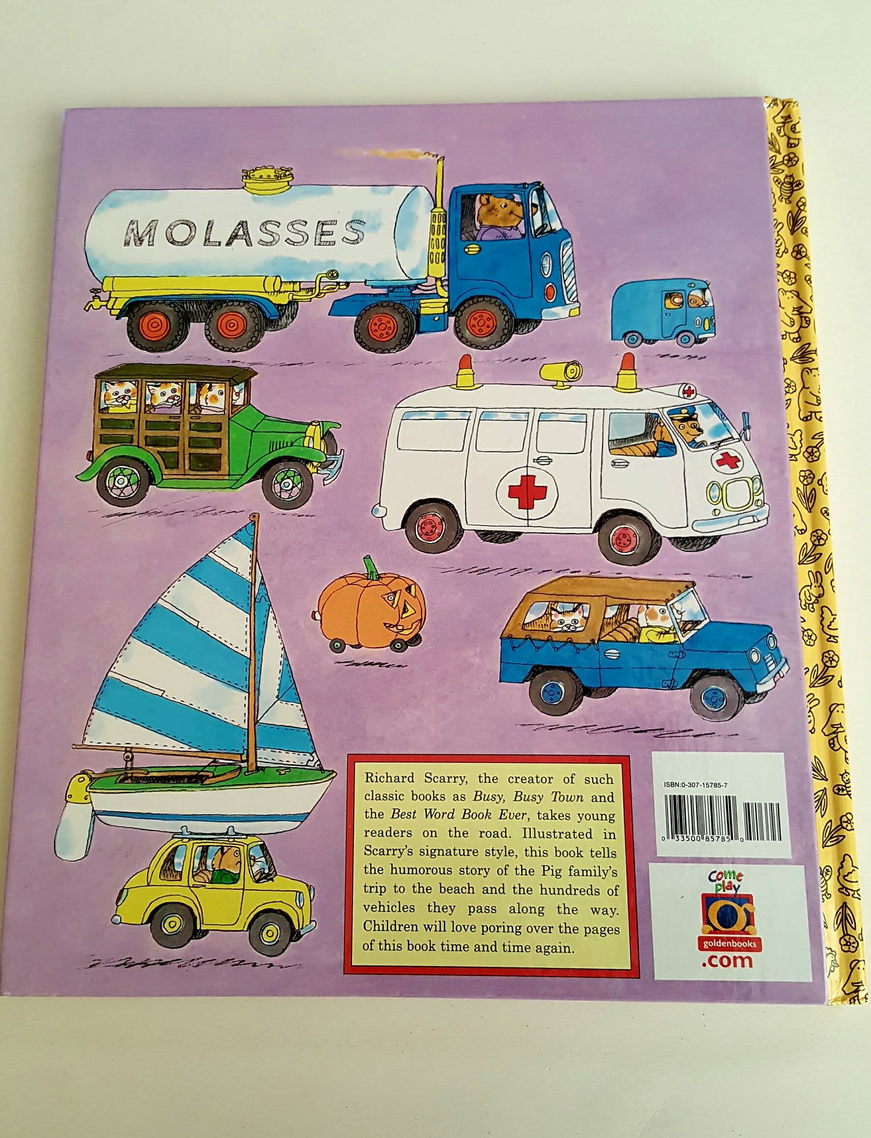 Richard Scarrys Cars And Trucks And Things That Go: 0033500857850:  Amazon: Books