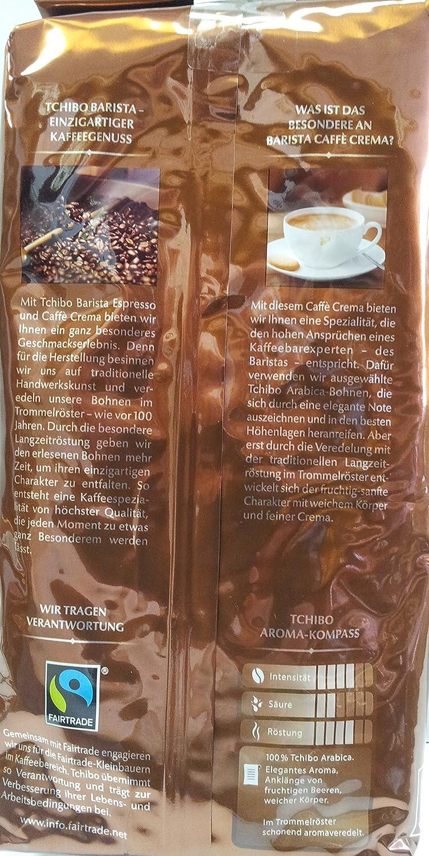 Amazon.com : Tchibo Barista Caffè Crema 1 kg : Grocery & Gourmet Food