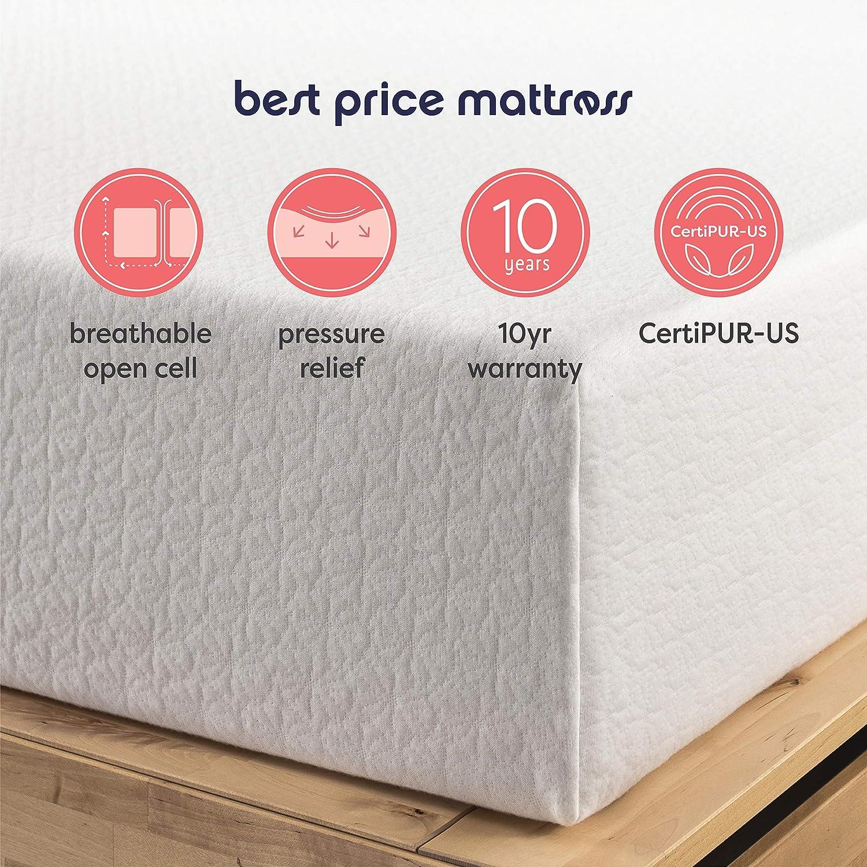Best Price Mattress 6-Inch Memory Foam Mattress, Full | eBay