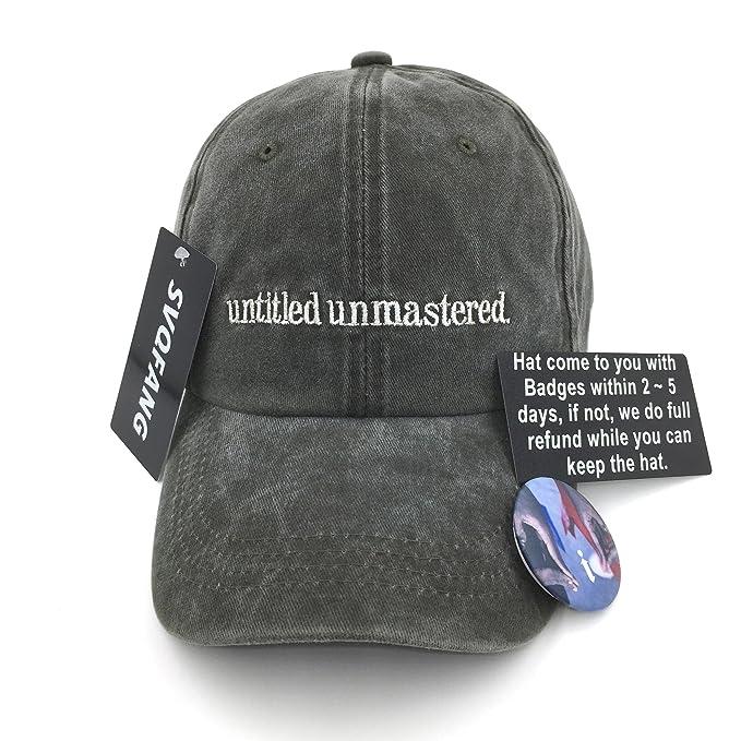 aea0b74213 Kendrick Lamar Untitled Unmastered Hat Baseball Cap Dad Hat I Apparel  Strapback  Amazon.ca  Clothing   Accessories