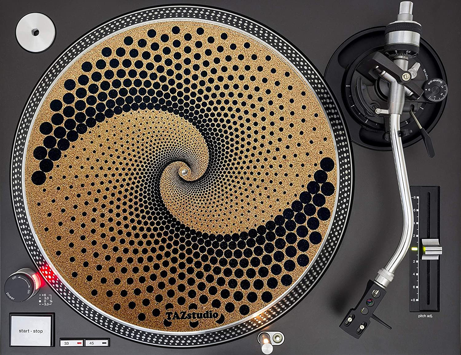 Taz Studio Turntable cork Slipmat