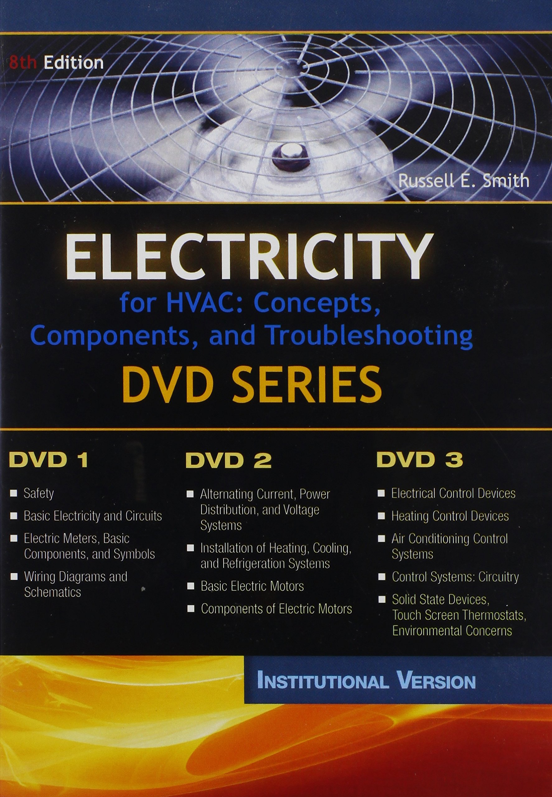 Electricity For Hvac Concepts Components And Troubleshooting Dvd Heat Meter Wiring Diagram Series Institutional Version 9781111038779 Books