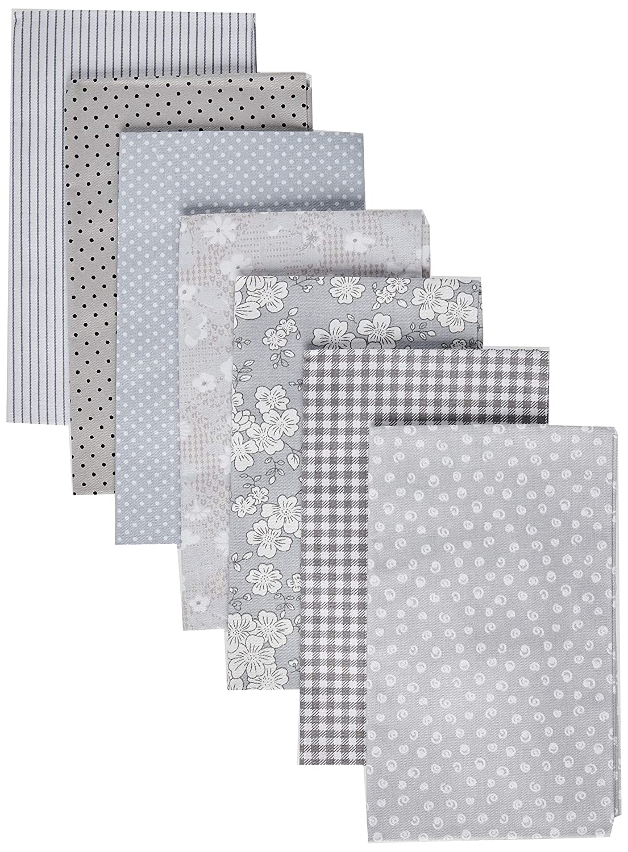 Amazon.com: Gray Series - Tela de algodón acolchada de ...