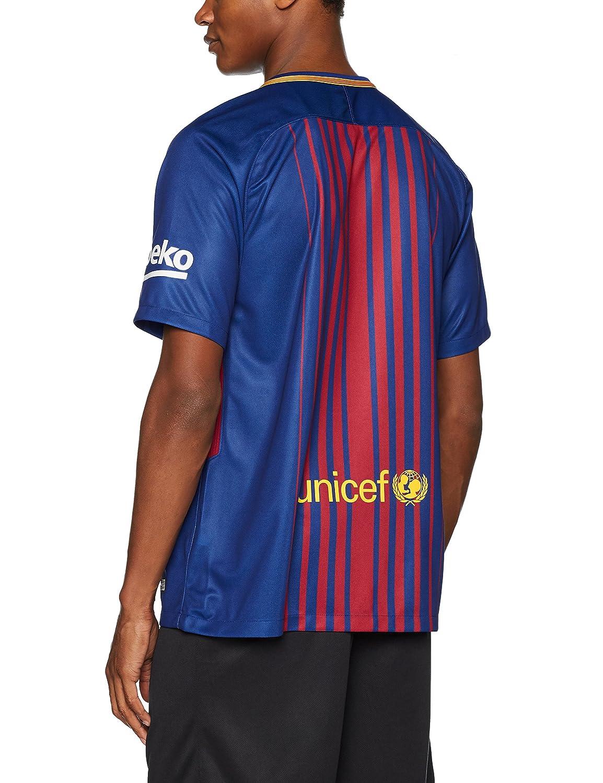 bb18b1b51 Nike men s FC Barcelona SS home stadium jersey