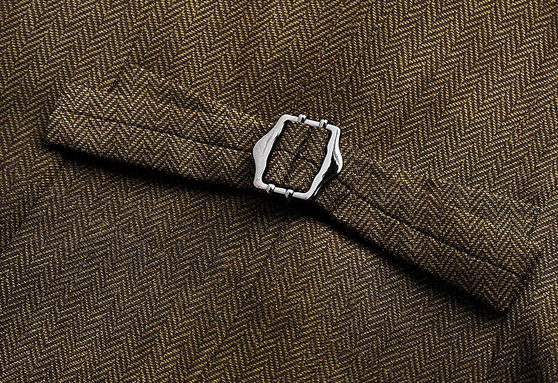 Anzugsweste mit 4 Kn/öpfen komplett gef/üttert V-Ausschnitt Vocni Damenweste