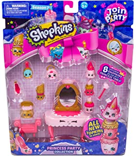 Amazon shopkins join the party theme pack wedding party shopkins join the party theme pack princess party collection junglespirit Image collections
