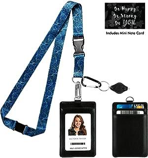 8a9dc5c83e724 Amazon.com : Gustav Klimt The Kiss Print Lanyard with PU Leather ID ...