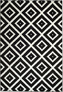 Amazon Com Nuloom Black Hand Tufted Kellee Rug 4 X 6 Black