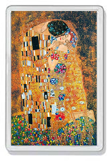 AWS marco Imán de nevera Imán Frigor PVC el beso de Gustav Klimt ...