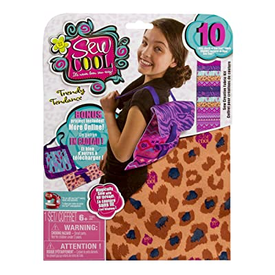 Cool Maker - Sew Creative Fabric Kit, Bonus Backpack Project (Packaging May Vary): Toys & Games
