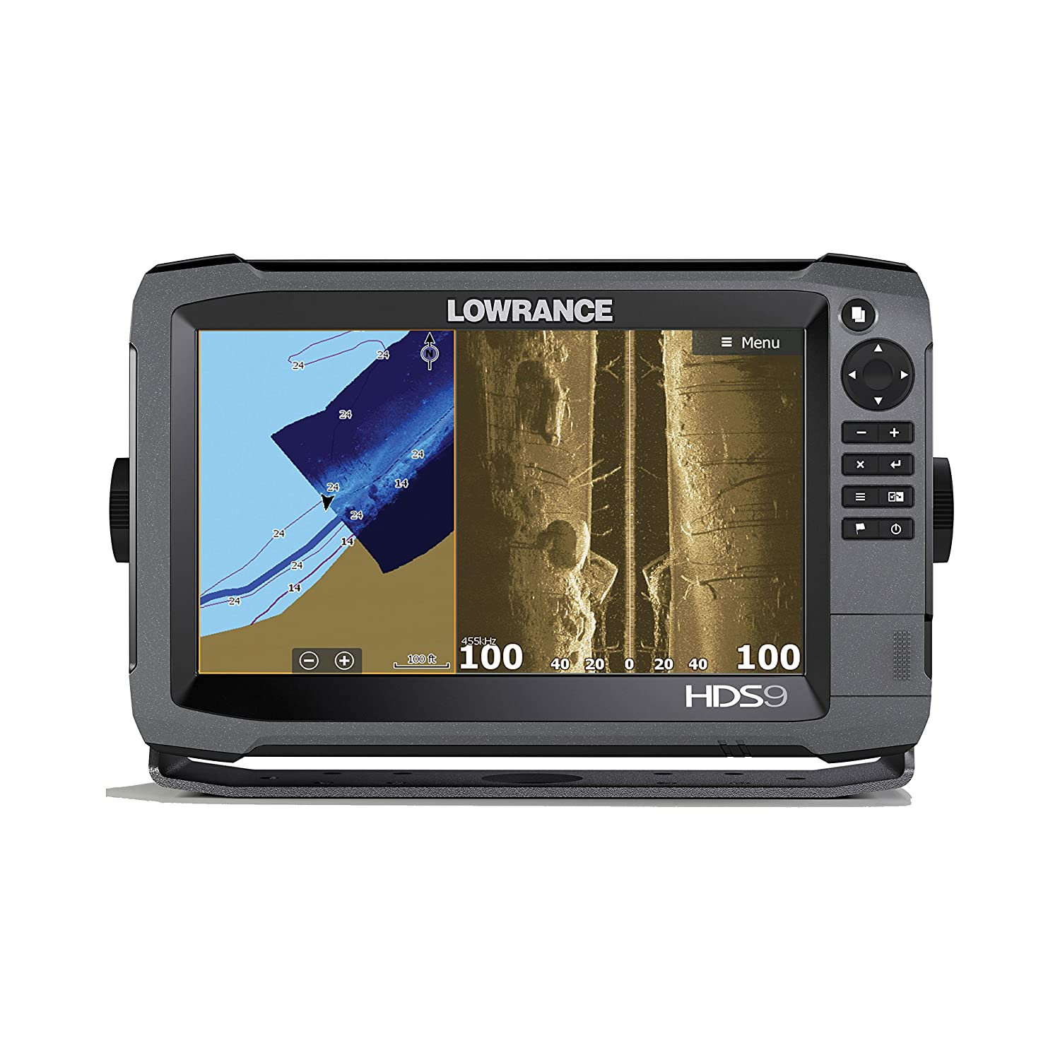 Lowrance 000-12915-001 HDS-9 Gen3 Med/High CHIRP w/ Insight Mapping & SS3D Transducer